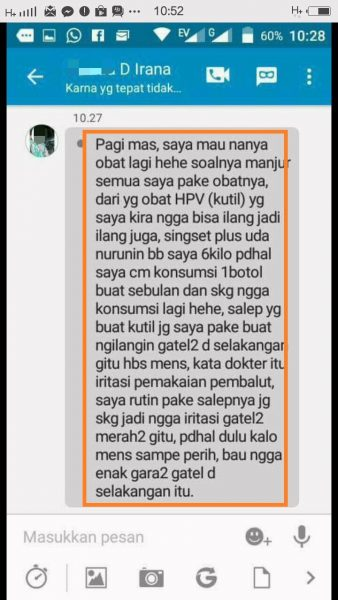 Review Pasien kutil Kelamin